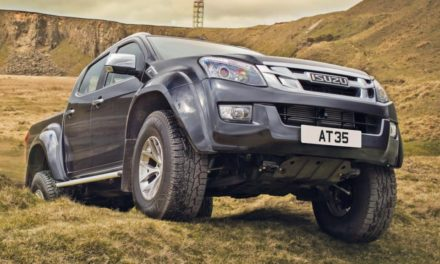 2017 Isuzu D-Max Arctic Trucks AT35 Review