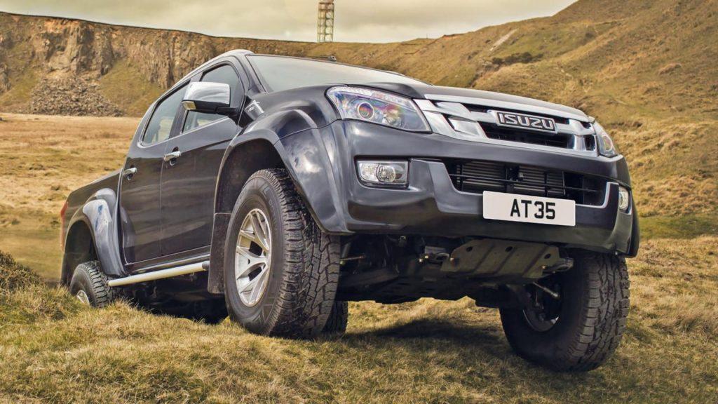 2017 Isuzu D-Max Arctic Trucks AT35 Review
