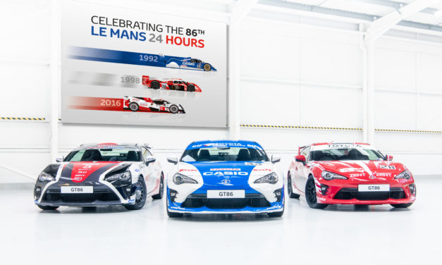 TOYOTA MARKS THE 86TH 24 HOURS OF LE MANS WITH TRIO OF HERITAGE LIVERIED GT86 COUPES